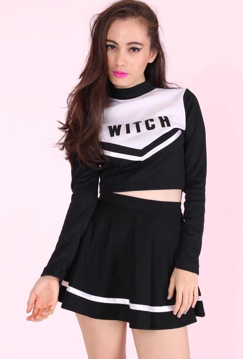 Image of 2 Week waiting -  Team Witch Cheerleading Set <3