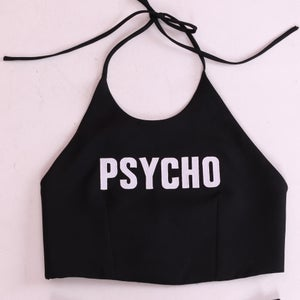 Image of Made To Order - Psycho Halter Top