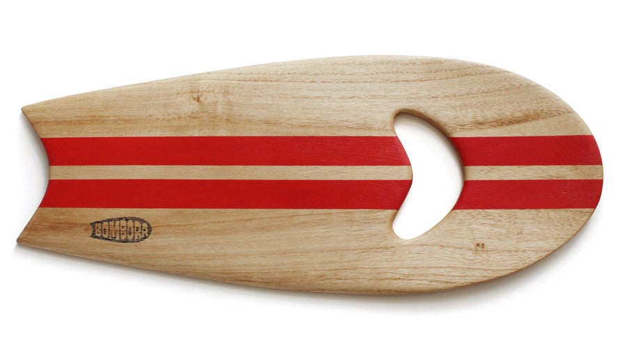 Image of Bombora Moontail Hand Plane Red