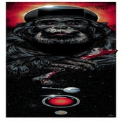 Image of MOON-WATCHER art print - 2001 Space Odyssey