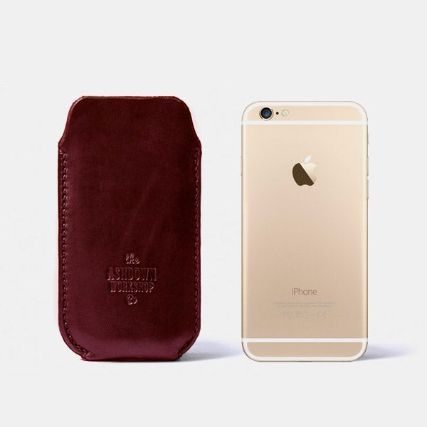 Image of iPhone 6 Case - Horween® Chromexcel No.8 - Ltd Edition