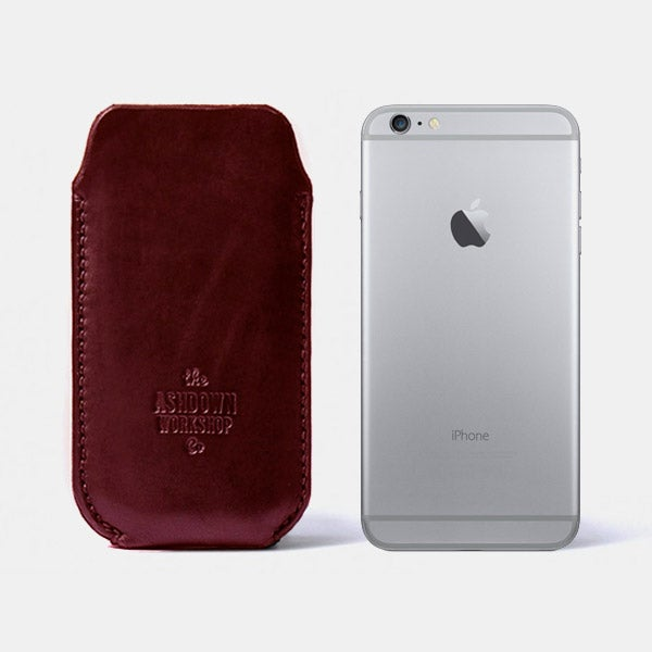 Image of iPhone 6 Plus Case - Horween® Chromexcel No.8 - Ltd Edition