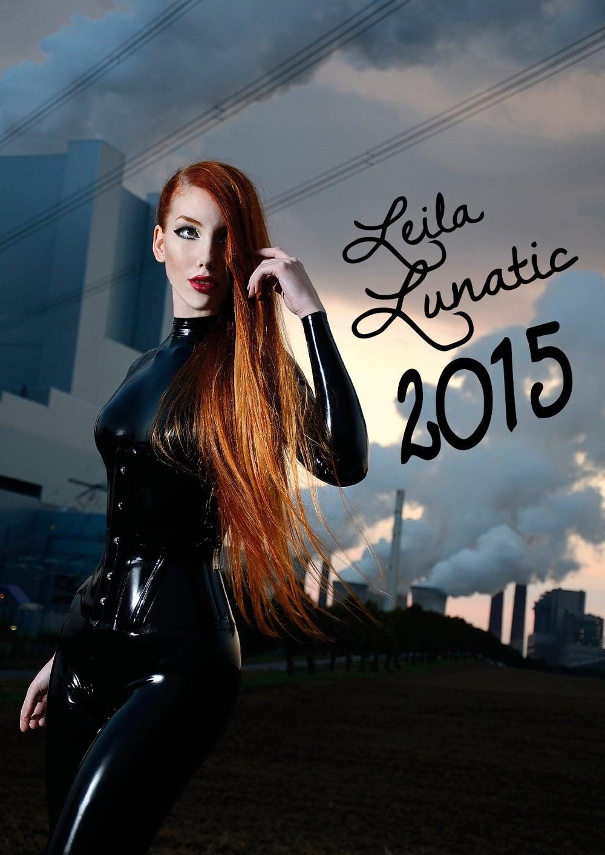 Image of Official LEILA LUNATIC calendar 2015