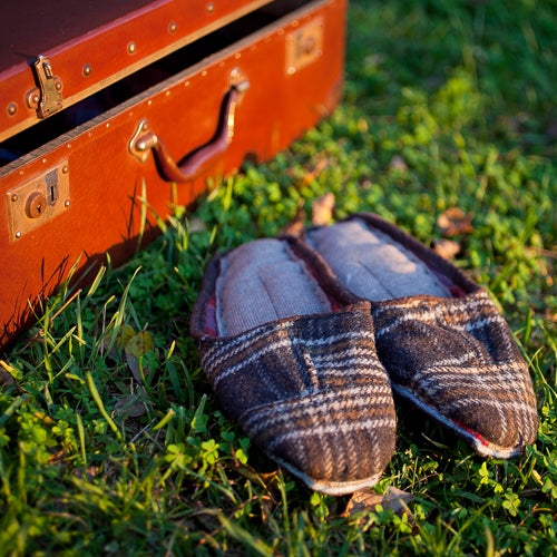 Image of Traditional Portuguese Scraps Slippers