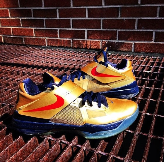 "Image of Nike Zoom KD 4 ""Gold Medal"""
