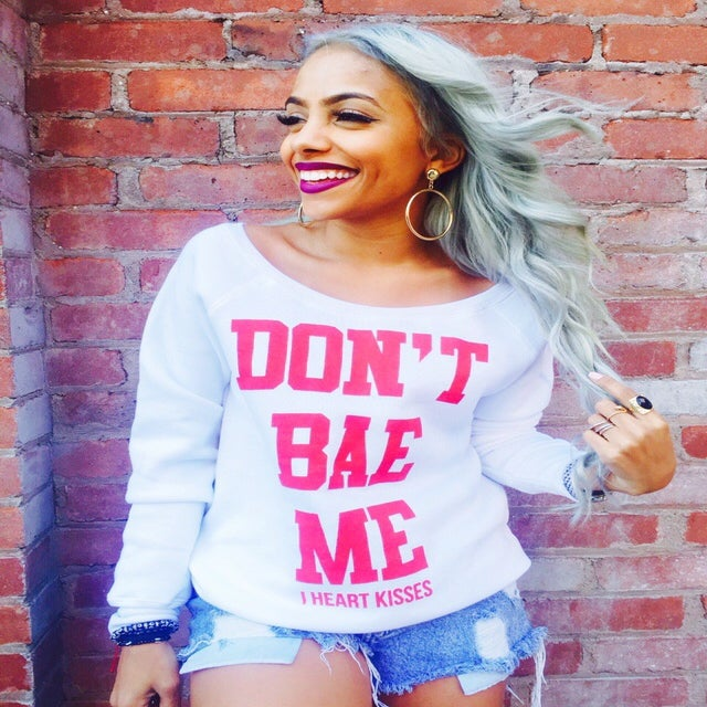 Image of DON'T BAE ME SWEATER