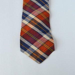 Image of VTG Plaid Tie