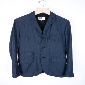 Image of Engineered Garments - Navy Diamond Andover Jacket