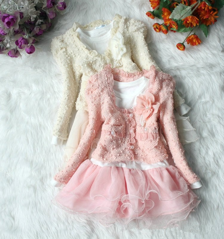 Image of Girls Lace Outfit