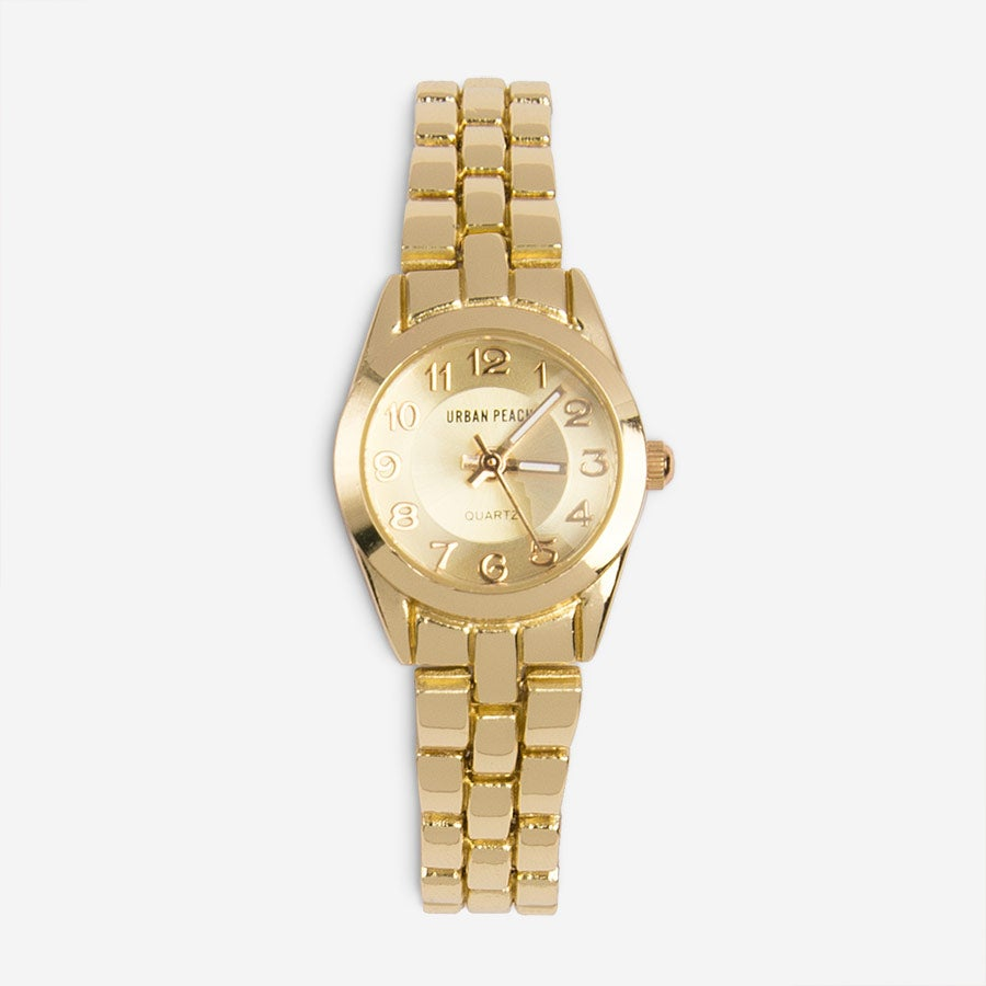 Image of Petite Gold Watch