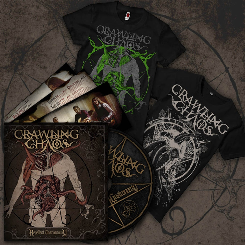 "Image of All- in Bundle ""CD + 2 T- Shirt"""