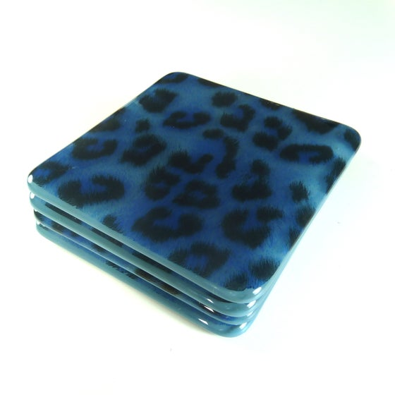 Image of Animal Print Coasters