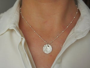 Image of Bambu necklace Sterling Silver