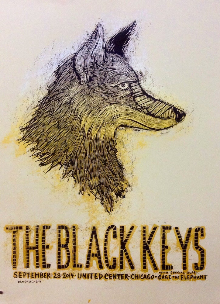Image of The Black Keys United Center Sep 28 2014