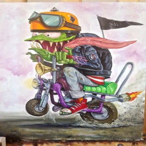 Image of Minibike weird-oh