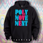 Image of POLYMOVEMENT HOODIE- RETRO PMM13