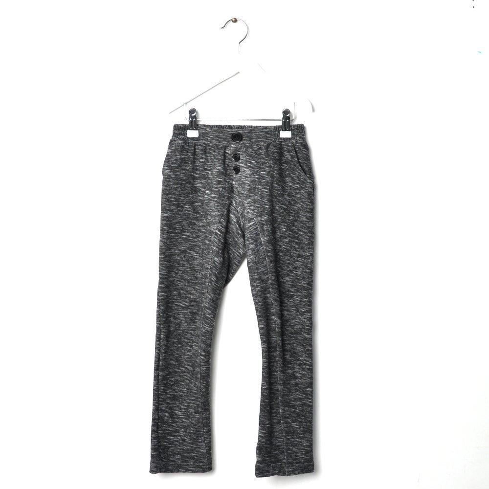 "Image of Pantalon garçon Hebe ""Jekabs"" gris foncé chiné"