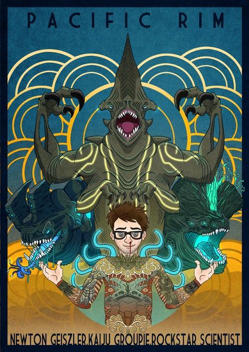 Image of Pacific Rim - Newt Geiszler, Rockstar Scientist