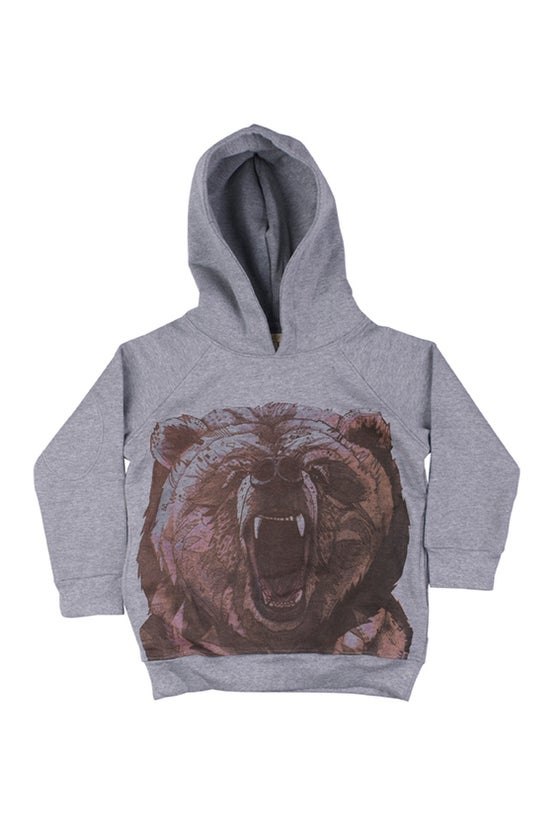 "Image of Sweat-shirt à capuche garçon Soft Gallery ""Siggi Grizzly"""