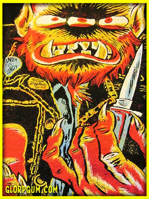 Image of GLORP Monster Mugger T-Shirt!
