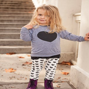 Image of House of Mia Heart Raglan