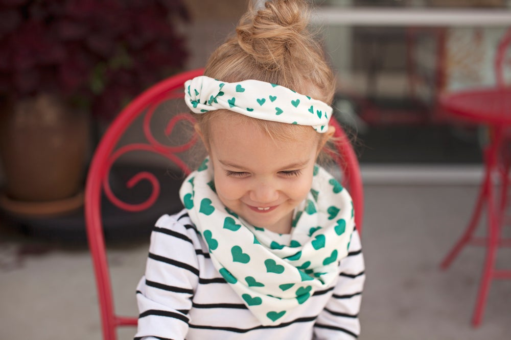 Image of The perfect Organic cotton Infinity scarf - child size (unisex)