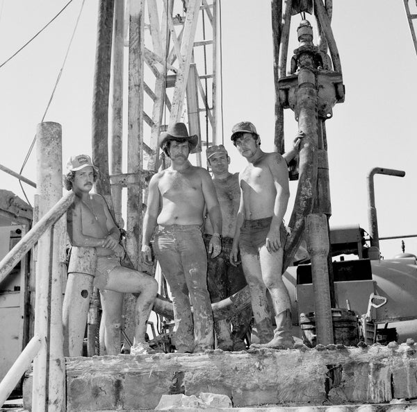 Image of Oil Derrick Studs in the Early 80's