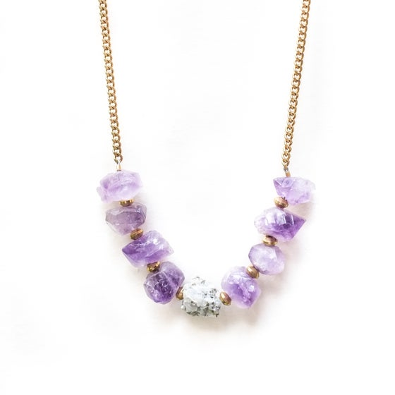 Image of Nebulove Amethyst Necklace