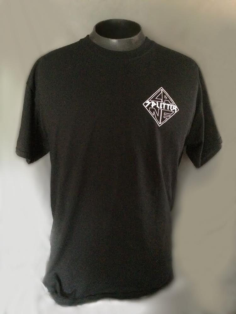 Image of Lane Splitter Support Tshirt black