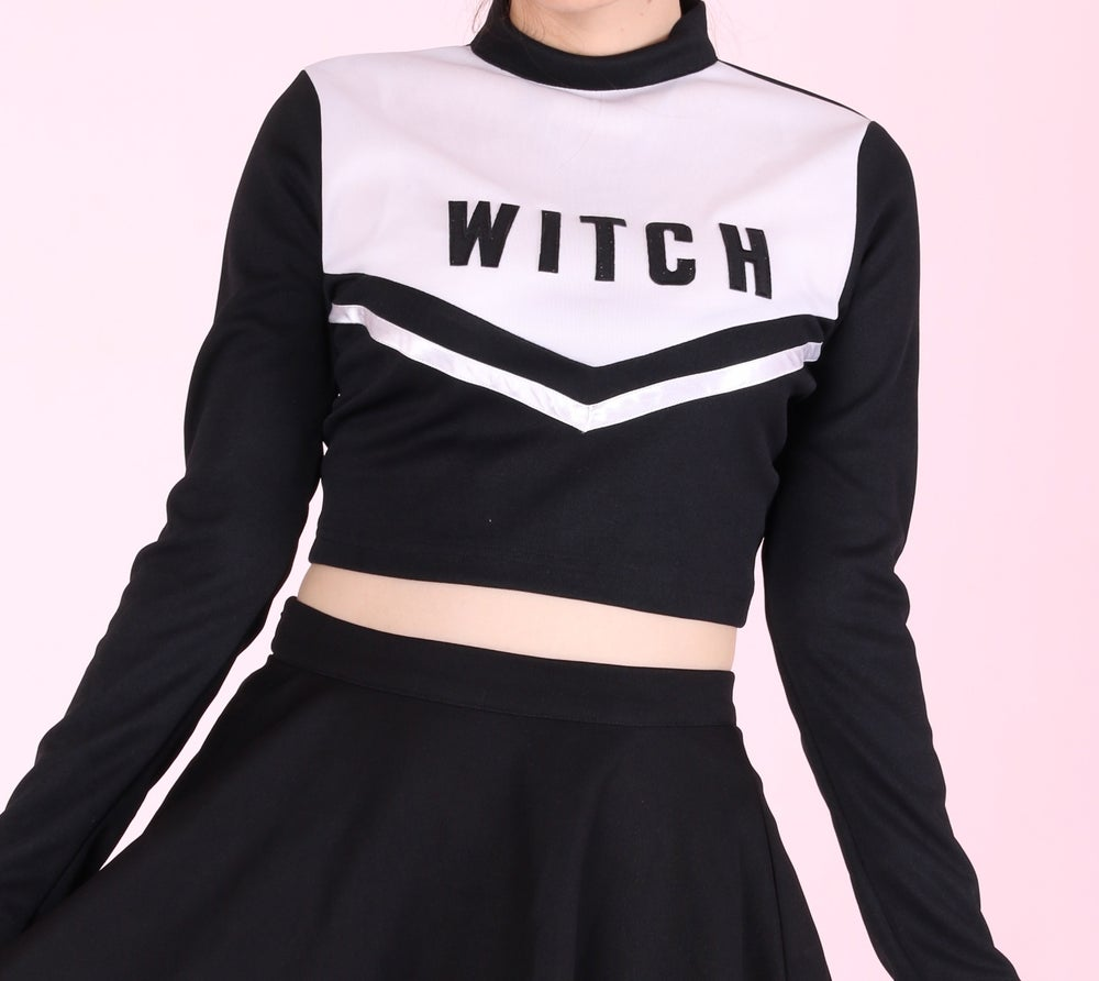 Image of Made To order - Witch Cheerleading Long Sleeved Top