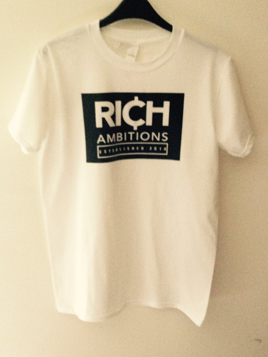 Rich ambitions clothing products for Big cartel t shirts