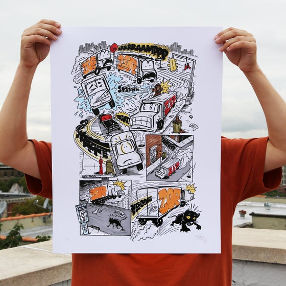 Image of *MOVING SALE!* Limited Edition Curve Print