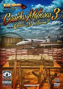 Image of Corridos Mafiosos 3 CD/DVD Combo