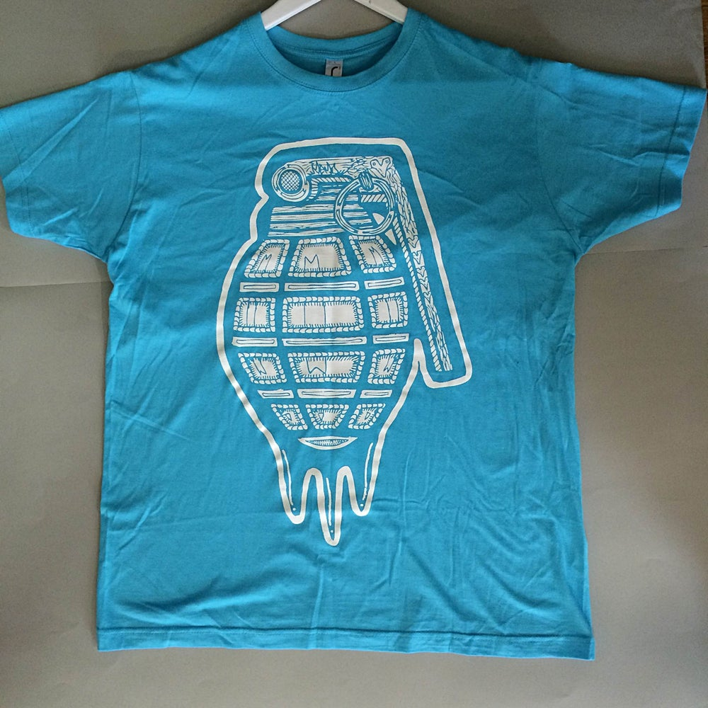 Image of Love Grenade - Turquoise