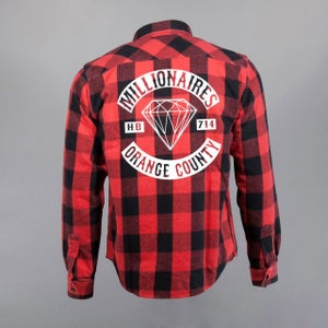 """Image of Millionaires Red """"Club"""" Flannel"""