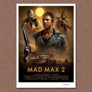 Image of Mad Max 2 Poster