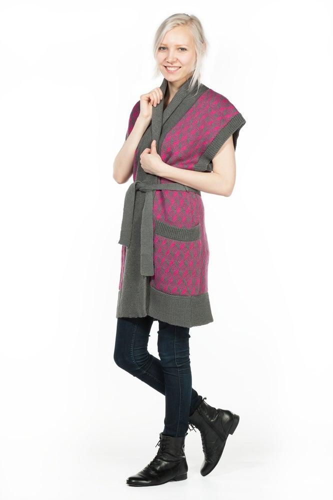 Image of KIMONO gray-pink