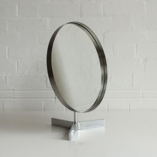 Image of Nickel Dressing Mirror