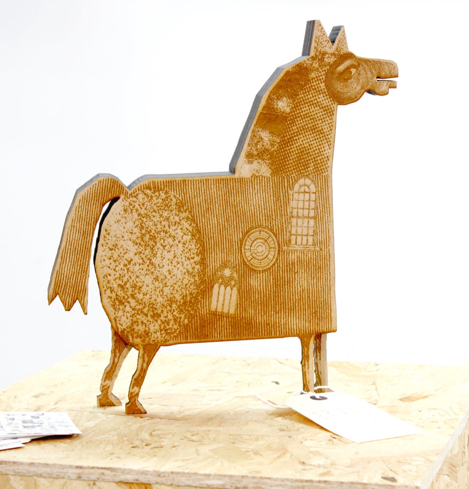 Image of Wooden Animal