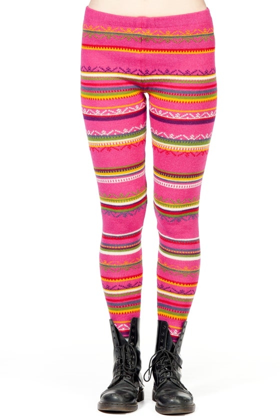 Image of LEGGINGS FUCHSIA