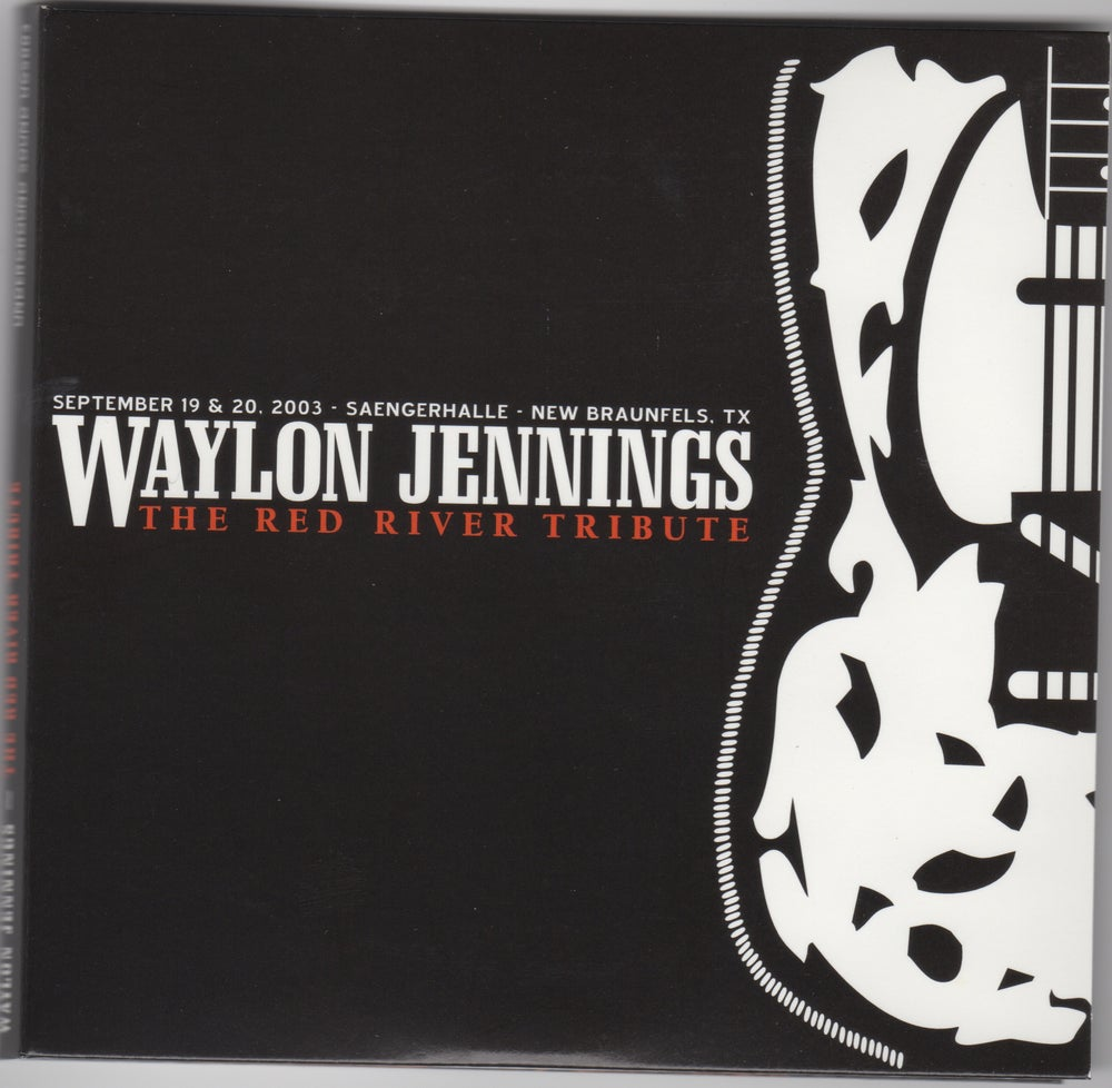 Image of Waylon Jennings-The Red River Tribute