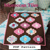 Image of PDF Mini Morroccan Tiles Pattern