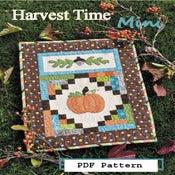 Image of PDF Mini Harvest Time Pattern