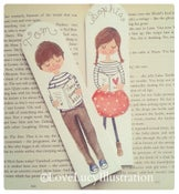 Image of Personalised Wooden Bookmark