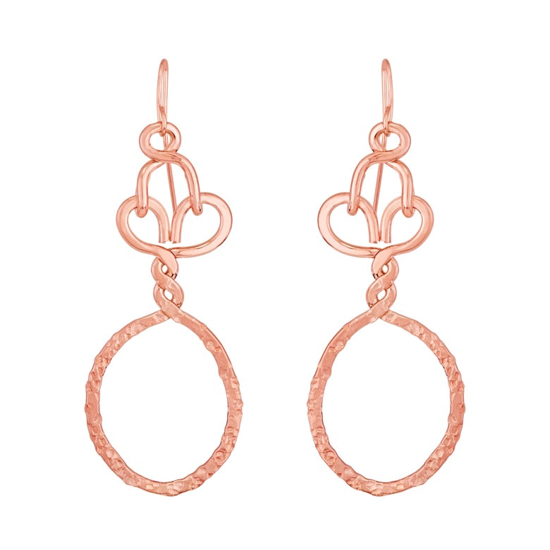 Image of Nashemia Signature Hoops- 14kt. rose gold filled