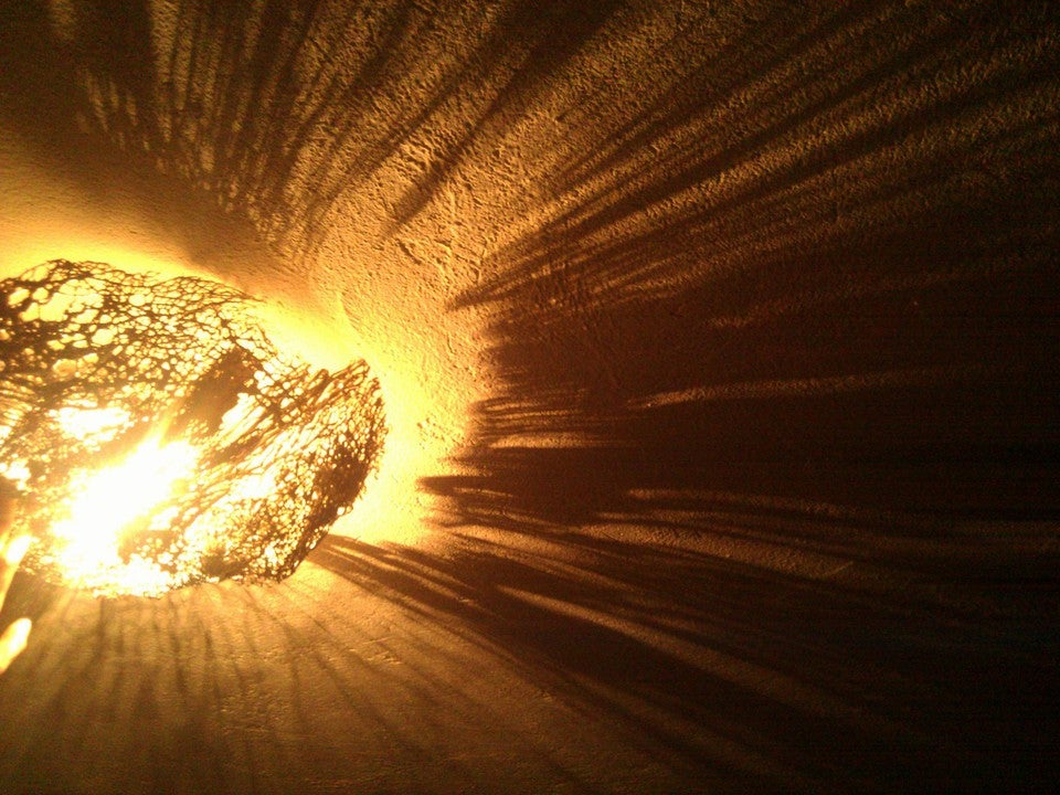 Image of Cactus skeleton lampshade