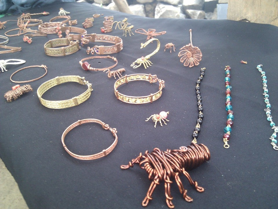 Image of Wire Jewelery