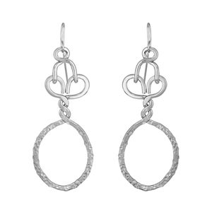 Image of Nashemia Signature Hoops- Sterling Silver