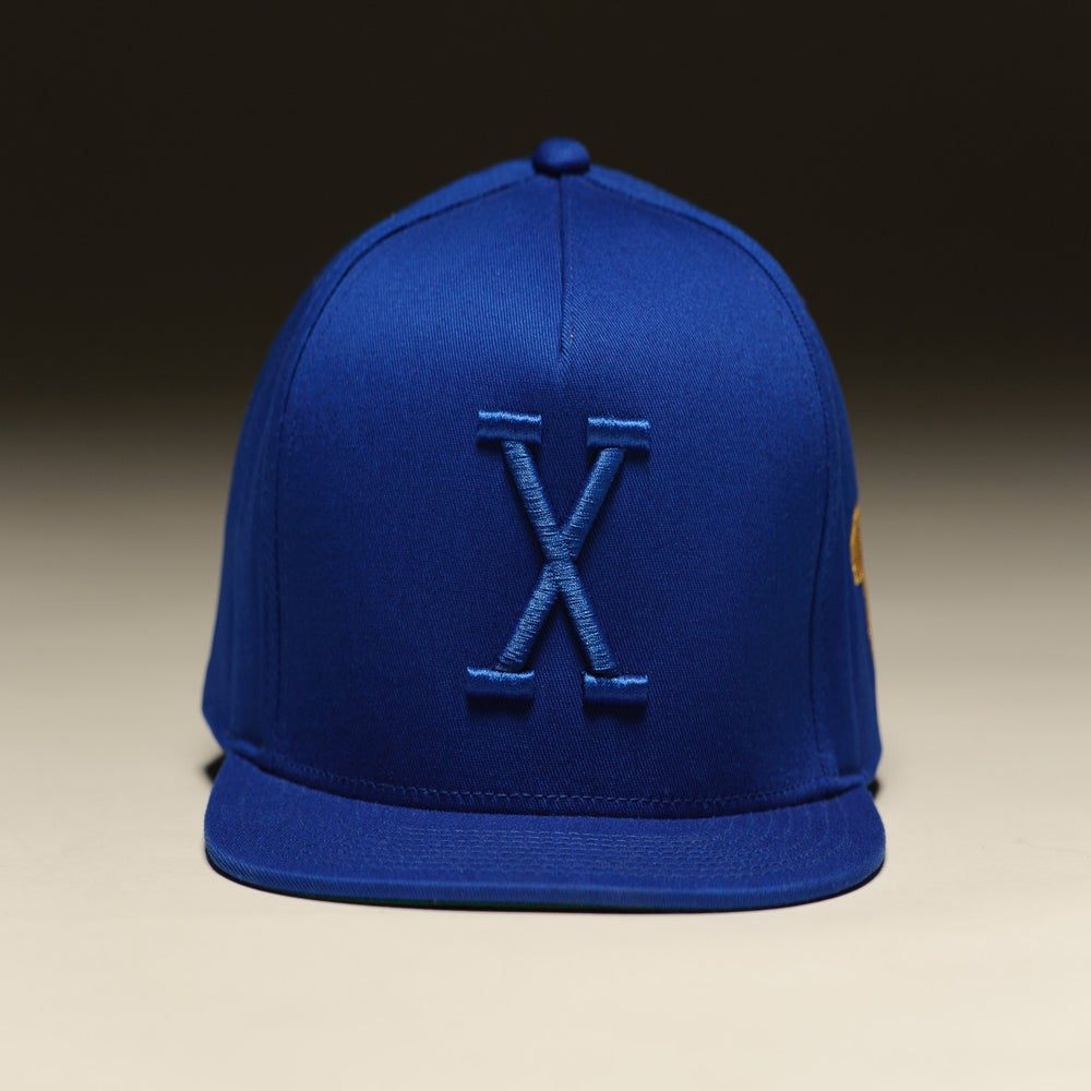 Image of X Retro Tonal - Royal Blue/Royal Blue