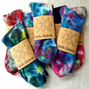 Image of Mens tie dye socks